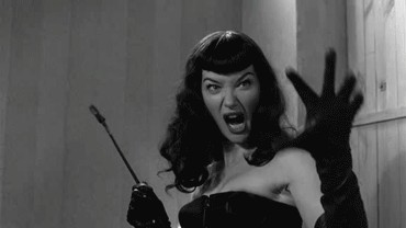 Bettie Page really knew how to razz your berries