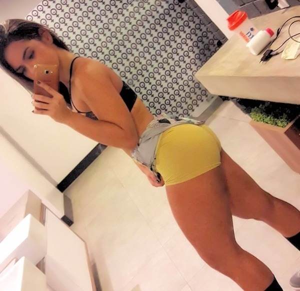 Short workout shorts are the best reason to go to the gym