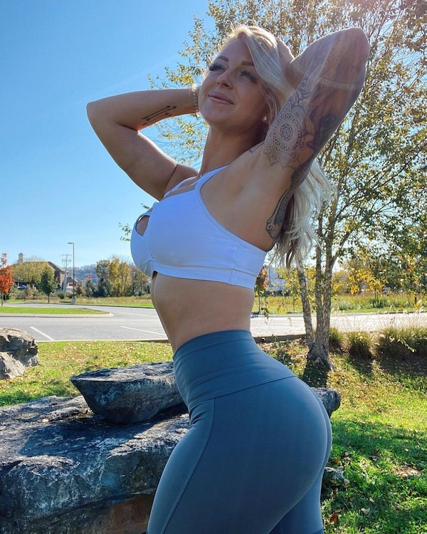 It's the Yoga Pants Season…and these ladies are bringing the heat