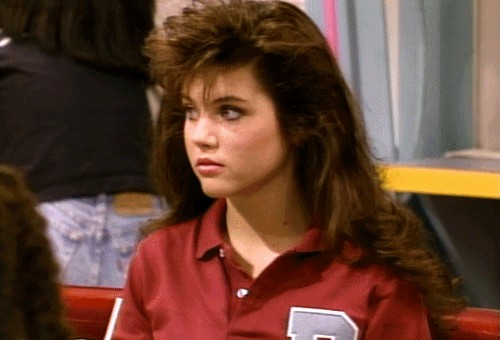 Tiffani Amber Thiessen is the Queen atop the '90s crush throne