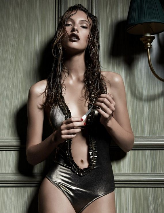 Swedish Babe Mona Johannesson is a Top Model