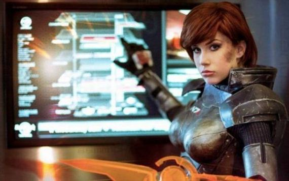 Sexy Mass Effect Cosplays