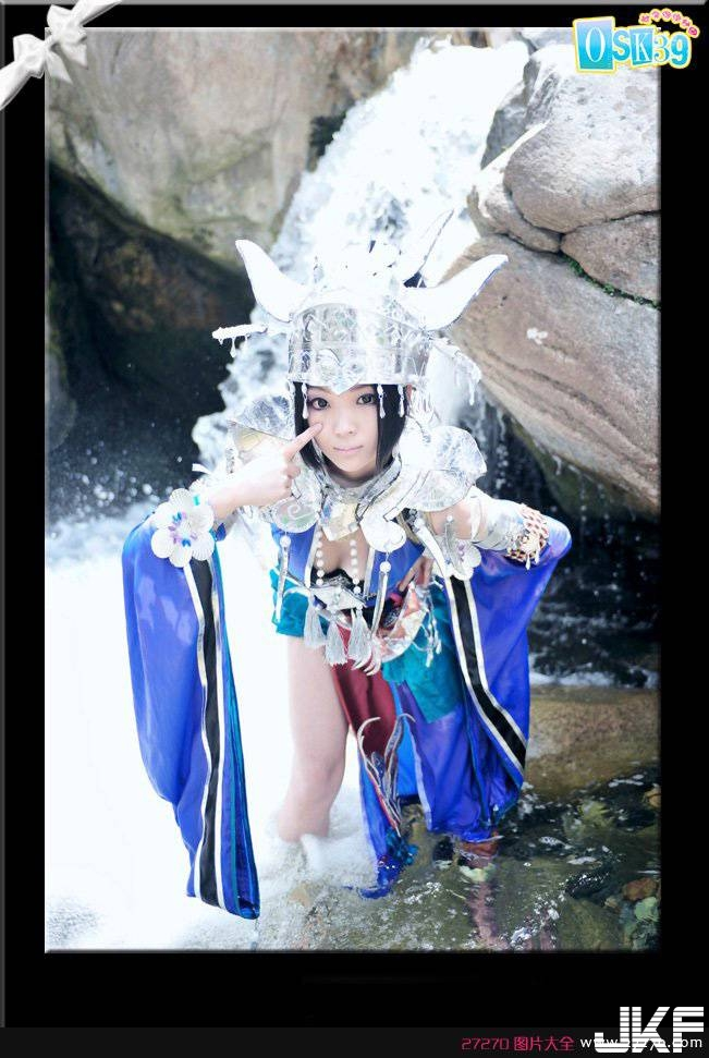 Sexy burst milk beauty girl – five poison 誘 bewitch cosplay