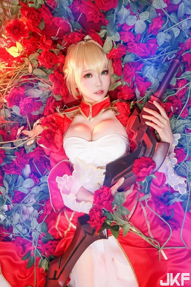 Fate/Grand Order Tyrant 祿 cosplay 1