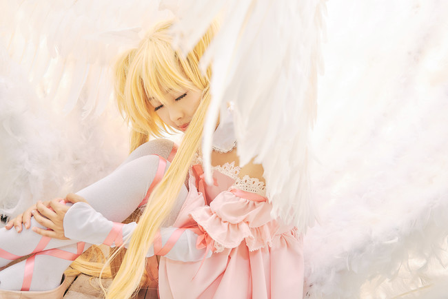 Keep your sweetheart, 繪 angels are cosplay