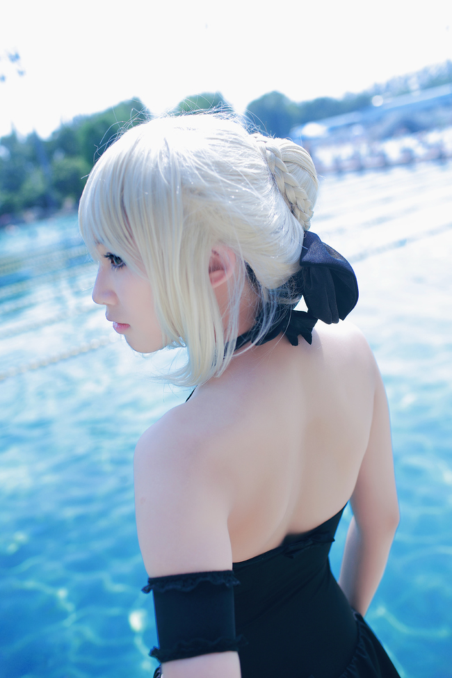 Fate/HF Saber Alter's backwater is cosplay