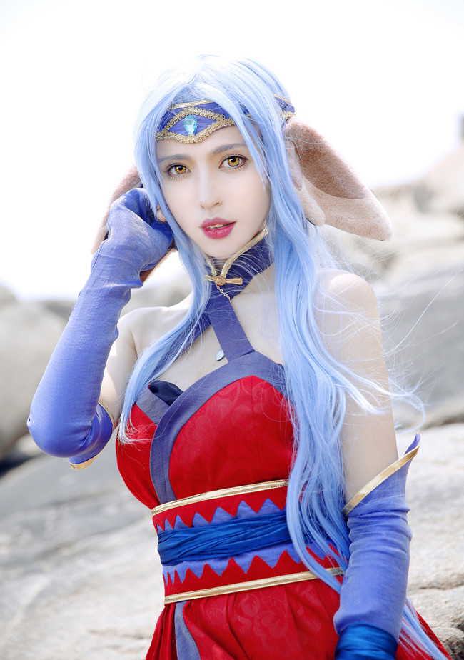 Queanbean sea-scented cosplay