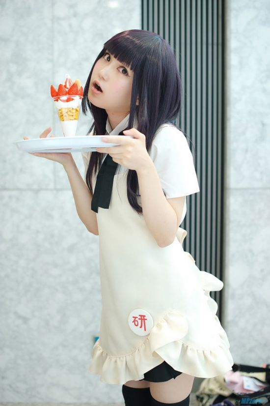"""""""Confused Meal 廳"""" can be played by natural black sister Yamada Kwai Cosplay"""