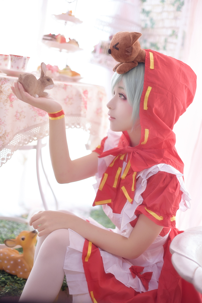 VOCALOID primary sound small cap ver. cosplay。