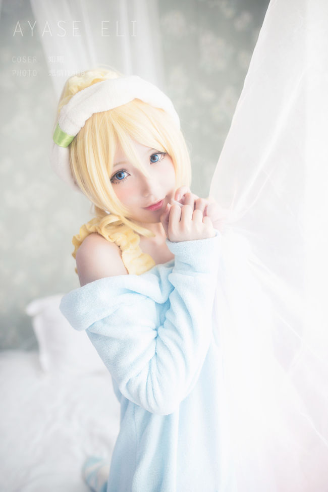LoveLive! 絢'繪 home service ver. cosplay。