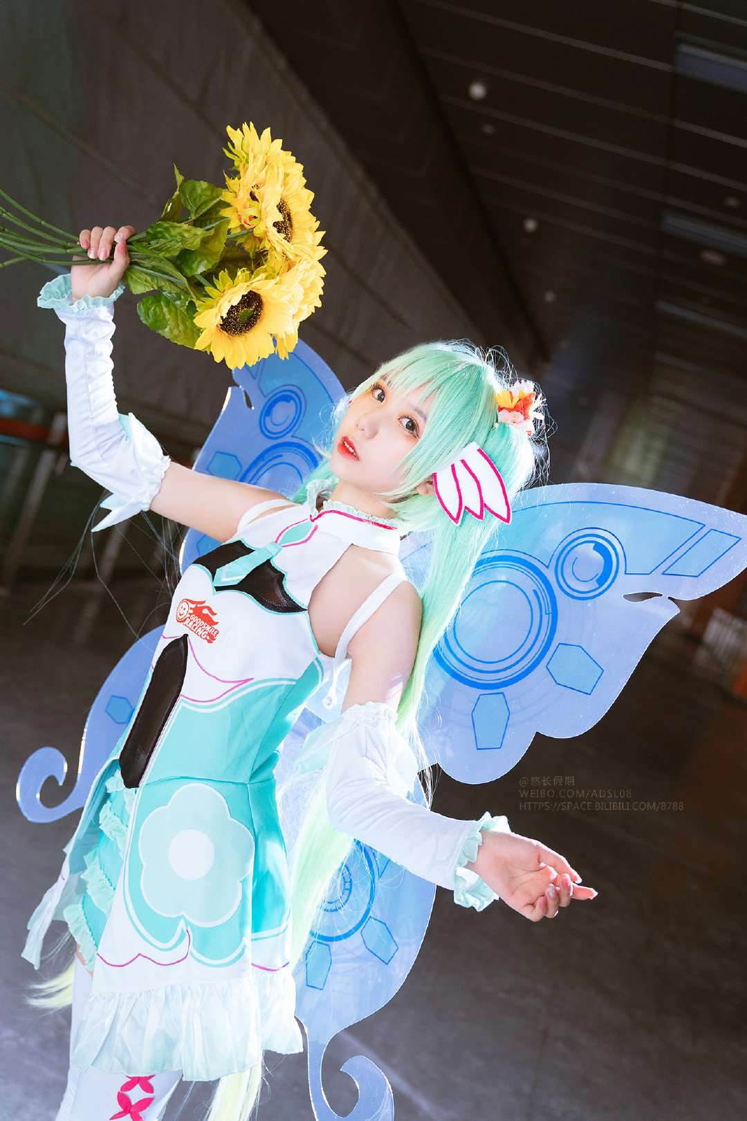 """""""VOCALOID"""" first sound is not coming – goblin Cosplay (CN: fruit 醬 w)"""