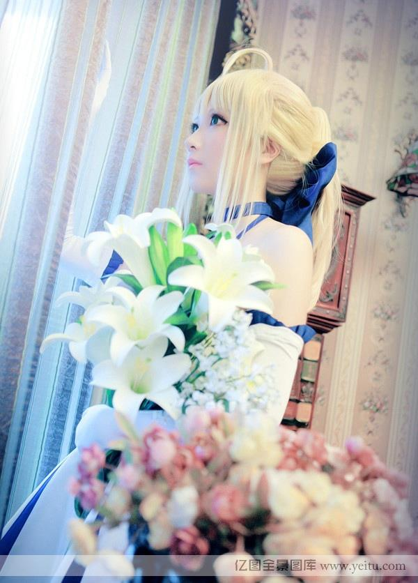 White can be charming little sister HD cosplay