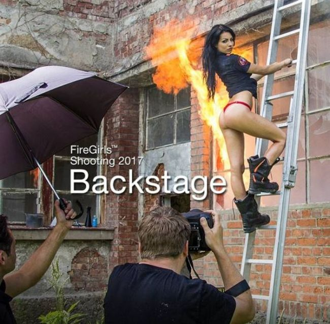 Behind The Scenes Photos Of Gorgeous Firefighter Girls That Will Make You Melt