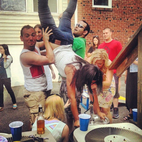 These Girls Are Pros When It Comes To Kegstands
