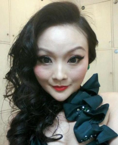 Real-Life Doll from Asia