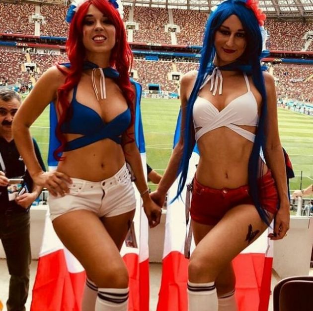 Cute French Fans