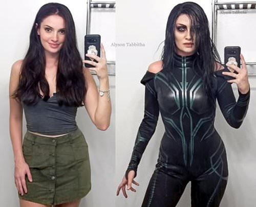 Hela cosplay from Thor
