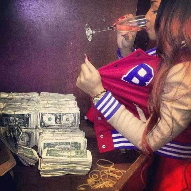 Strippers Always Seem To Be Swimming In Money