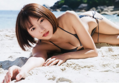 [Boobs] image collection of Rina Takeda who can enjoy not only slender beautiful milk of Gradle Takeda Rena of super beautiful girl but also Moriman and bijiri of bikini! w [80 sheets]