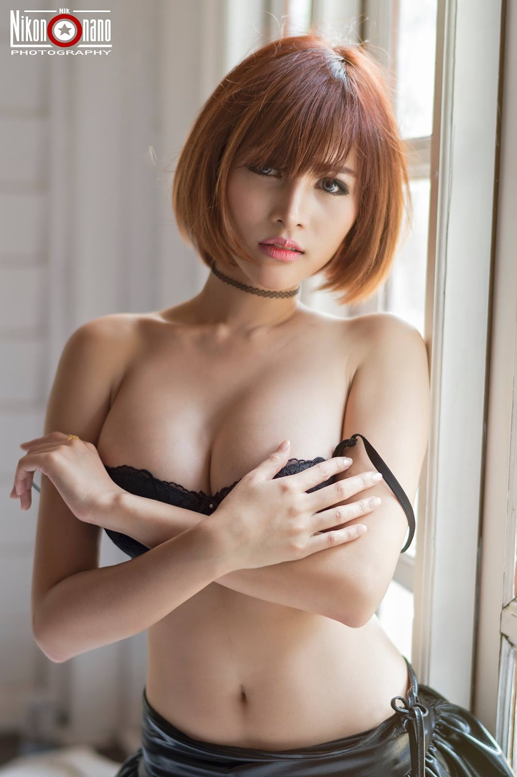 Sexy with short hair – Noomay Thailan model