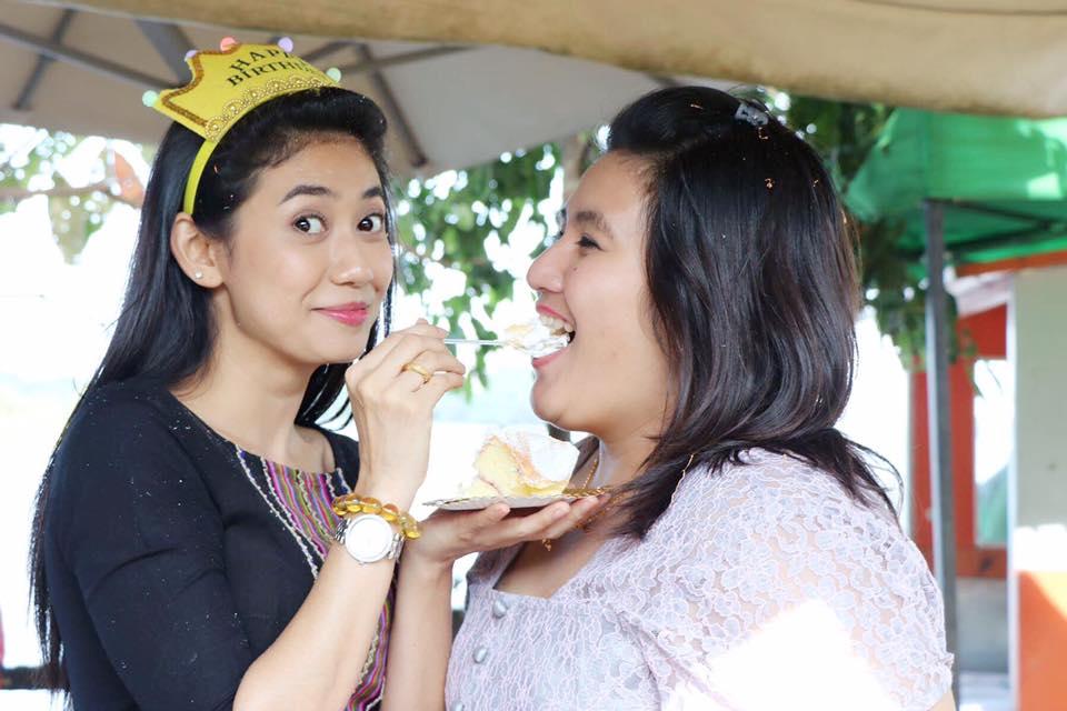 Happy Birthday Thinzar Wint Kyaw And Birthday Party With Her Family and Friends