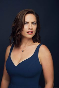 Hayley Atwell at home