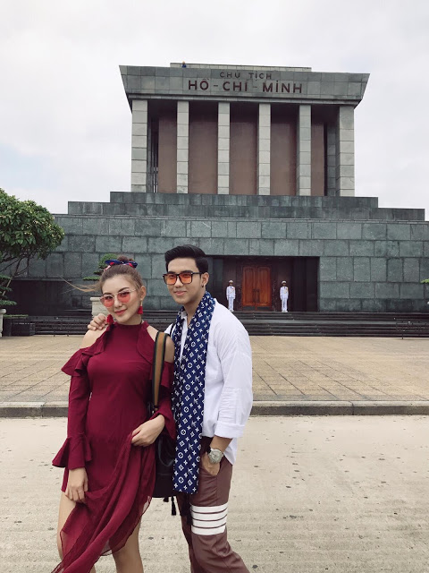 May Myint Mo and Her Family Vacation In Vietnam