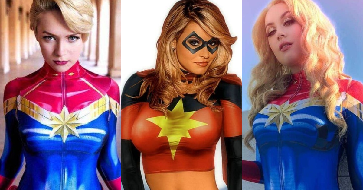 51 Sexy Captain Marvel Boobs Pictures Will Leave You Panting For…