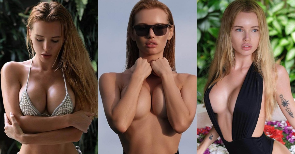 51 Sexy Olya Abramovich Boobs Pictures Which Will Cause You To…