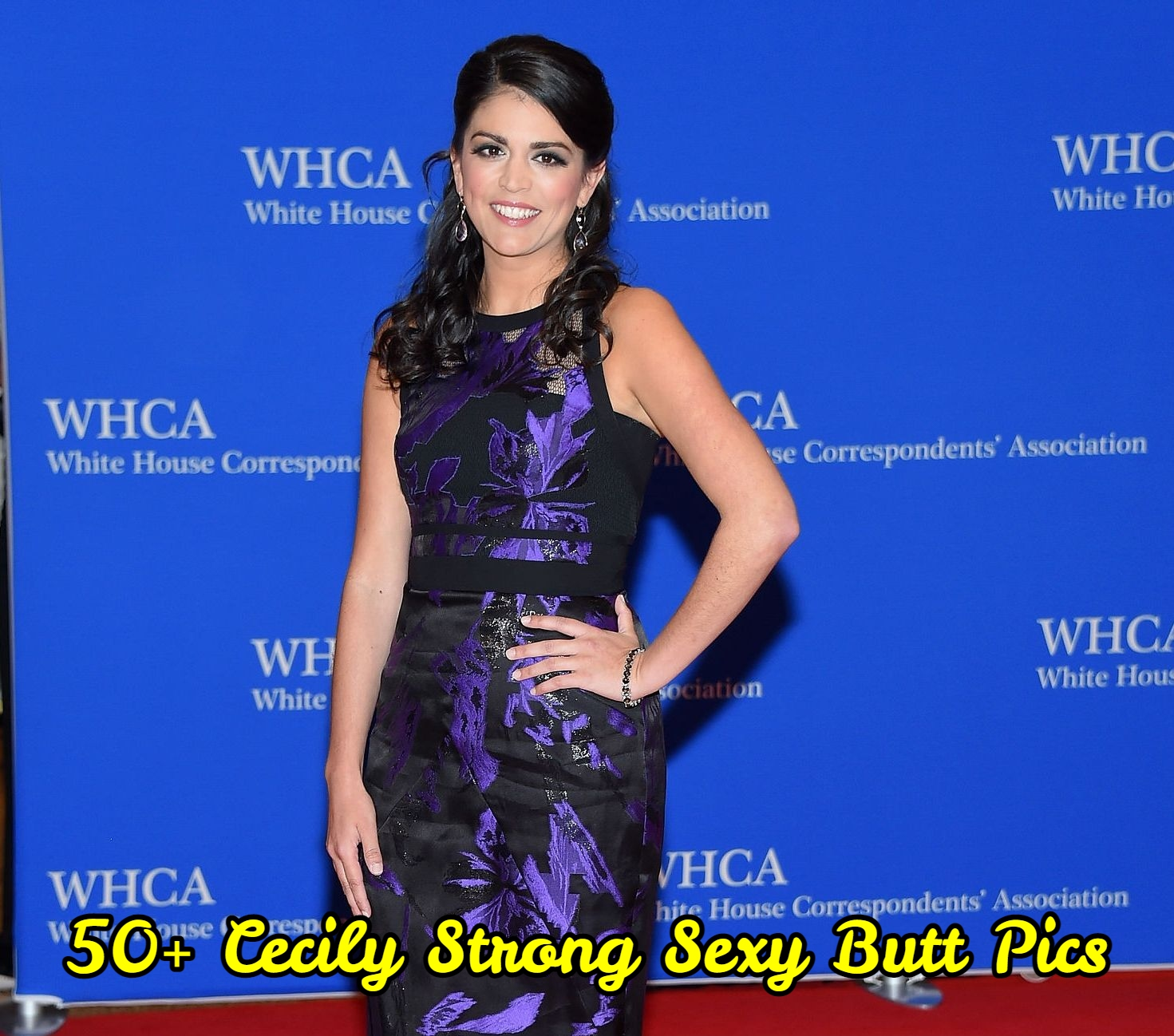 Cecily Strong Sexy Butt Pics