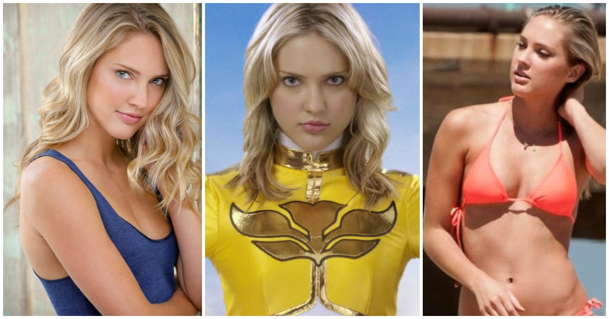 55+ Hot Pictures Of Ciara Hanna – Yellow Ranger In Power…