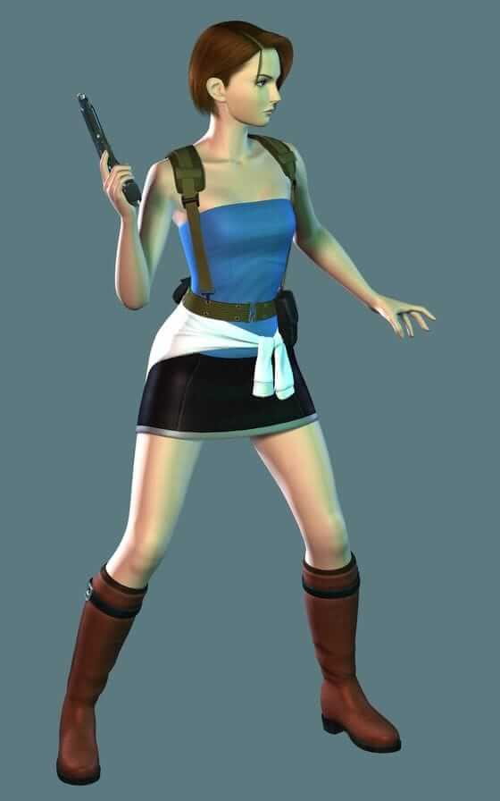 Jill Valentine thighs awesome