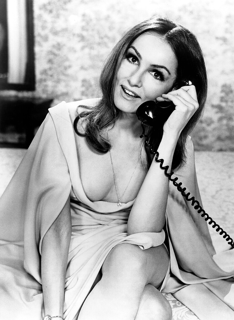 Julie Newmar hot cleavages pic
