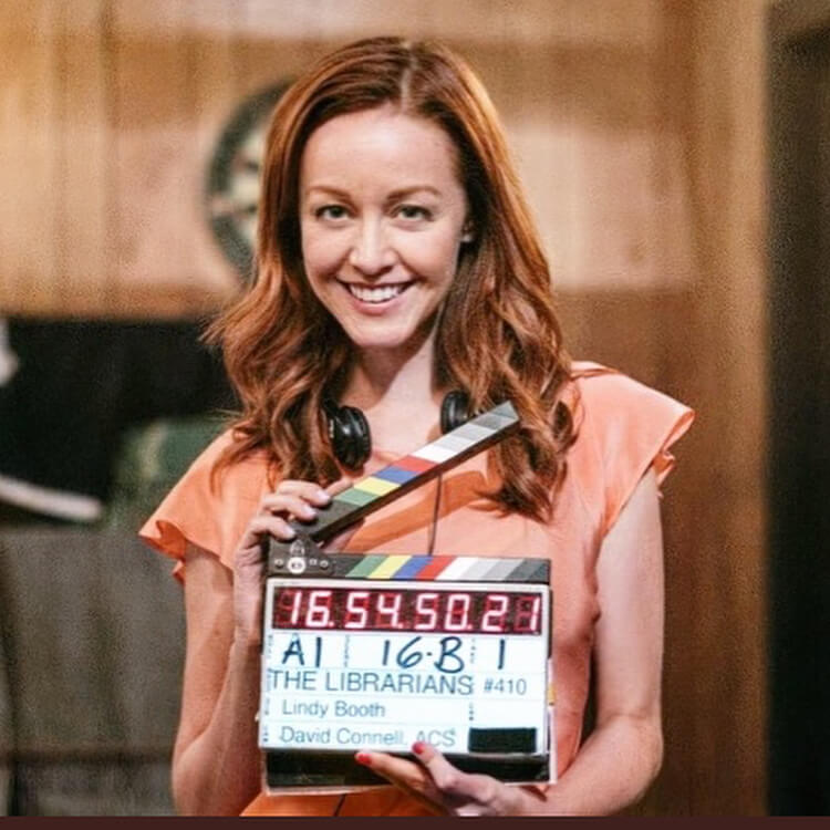 Lindy Booth smile