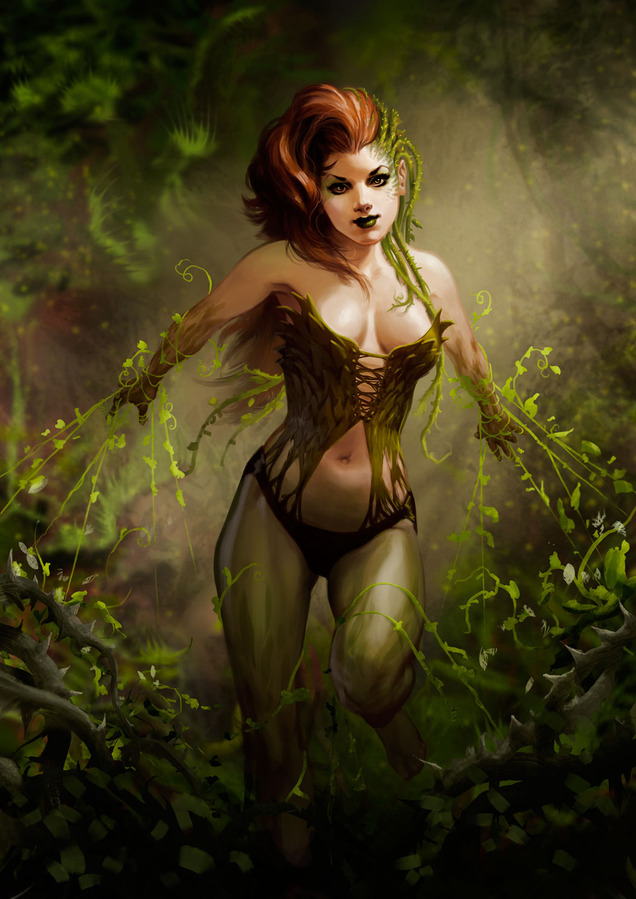 Poison Ivy sexy looks