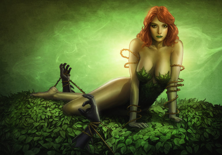 Poison Ivy sexy pictures