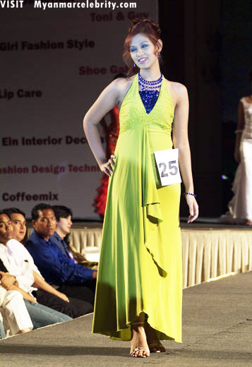 Myanmar sexy models, new models' style on catwalk