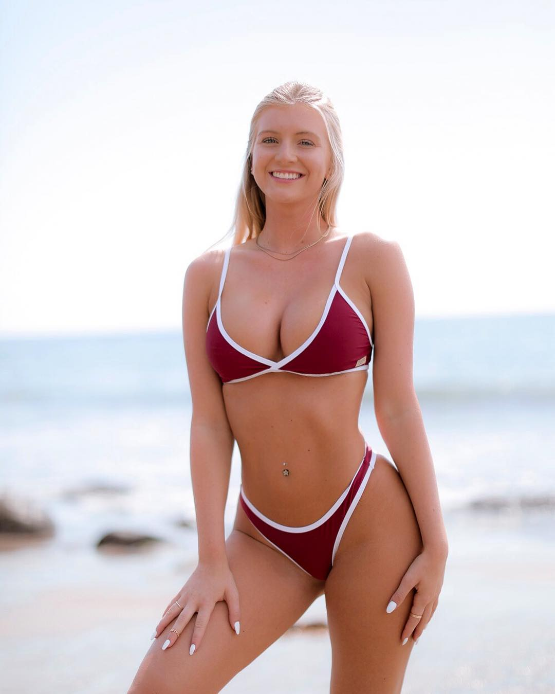 Alexis Clark with a freshly-looking body