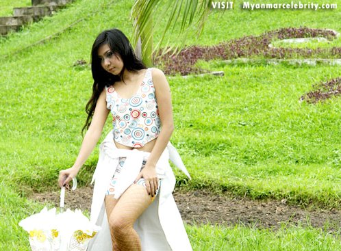 Myanmar sexy model, Moe Hay Mam Khin's active and hot style