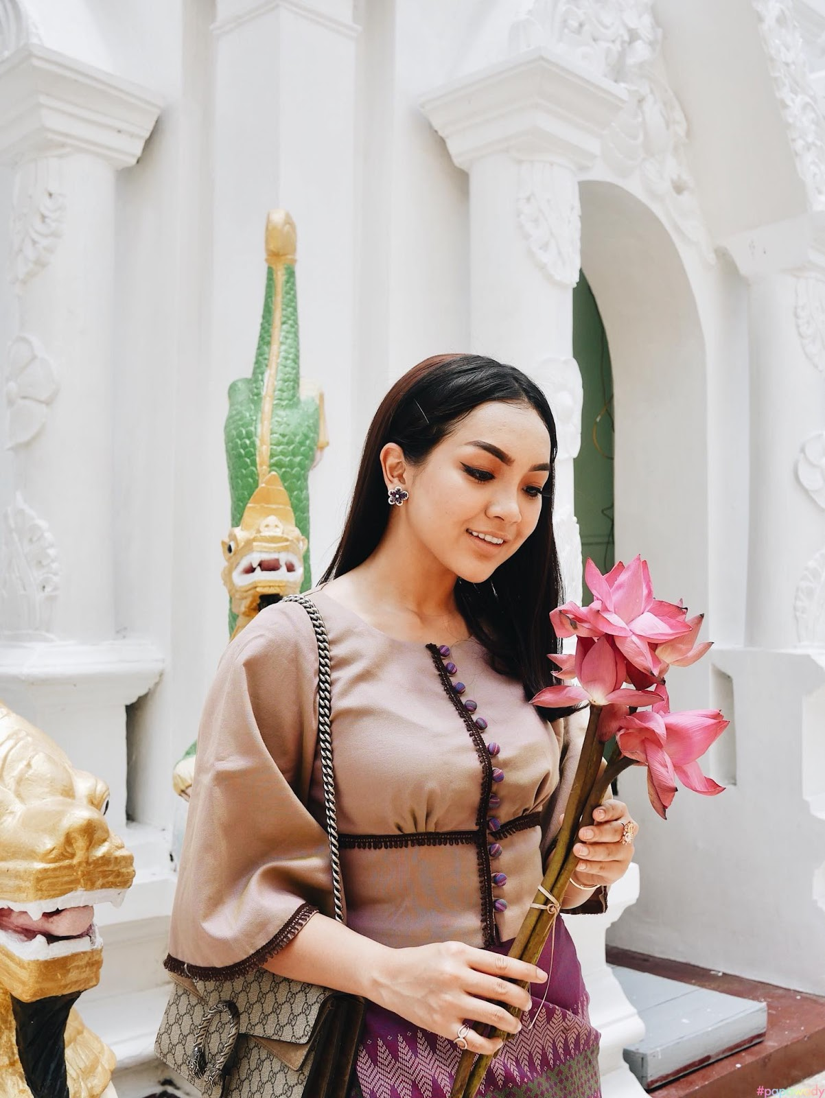 Beauty Blogger Nay Chi Oo - Beautiful Photos Collection May 2018