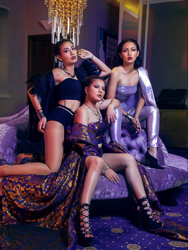 Three Myanmar Super Models Feature in New Moda Magazine Cover Photoshoot