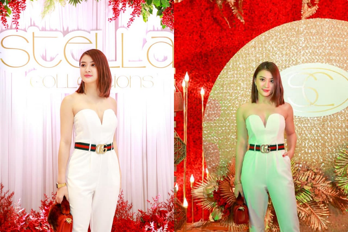 Wut Mhone Shwe Yi's Fashion Outfit - Stella Collections Day